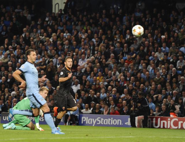 Soccer: Champions League; Manchester City-Roma