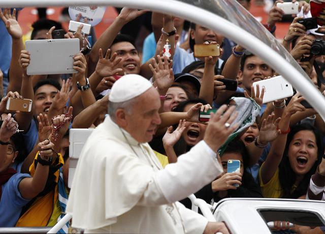 Pope Francis visits the Philippines ©