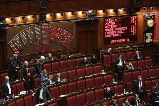 Camera dei deputati votazione sulla legge di stabilit for Camera dei deputati sito ufficiale