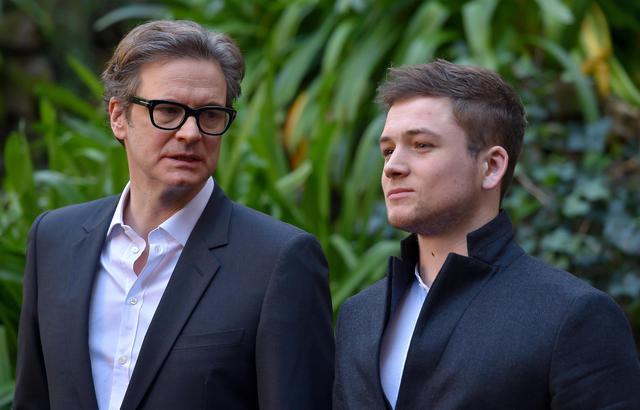 Ecco Colin Firth parodia fashion di 007 - Spettacolo - Ansa.it