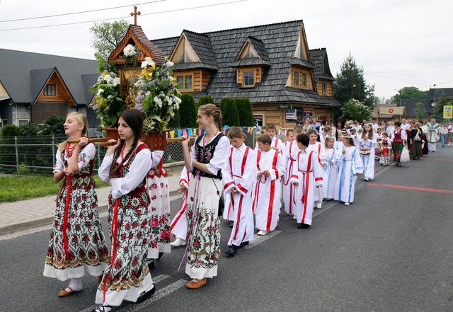 In it Primopiano Tradizionali Polonia Ansa Processione Costumi Zw7ATRTq