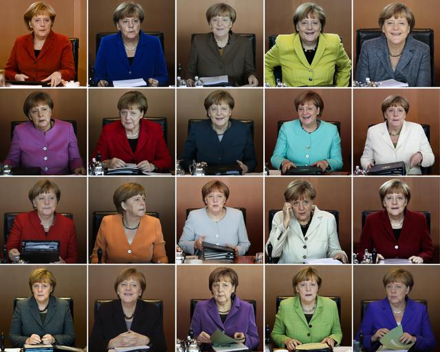 Le Del Ansa it Curiosita' Giacche Cancelliere Angela Tutte Merkel qApwISE