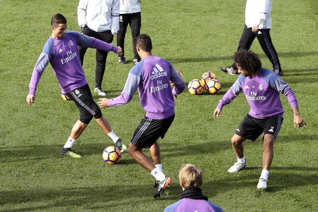 Allenamento calcio Real Madrid sito