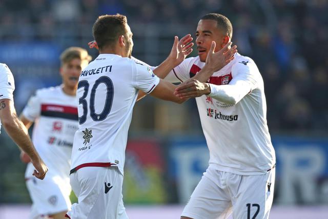 Il Cagliari rinasce a Bergamo: Atalanta battuta 1-2