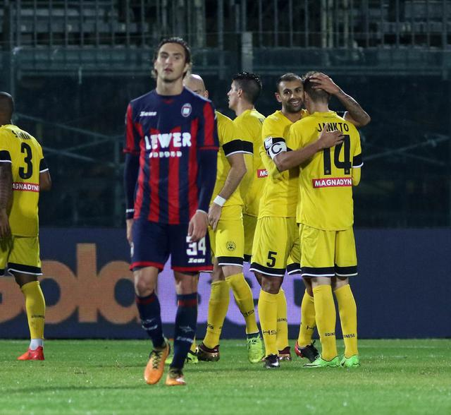 Soccer: Serie A; Crotone-Udinese ©
