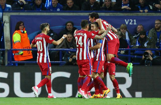 Leicester City-Atletico Madrid ©