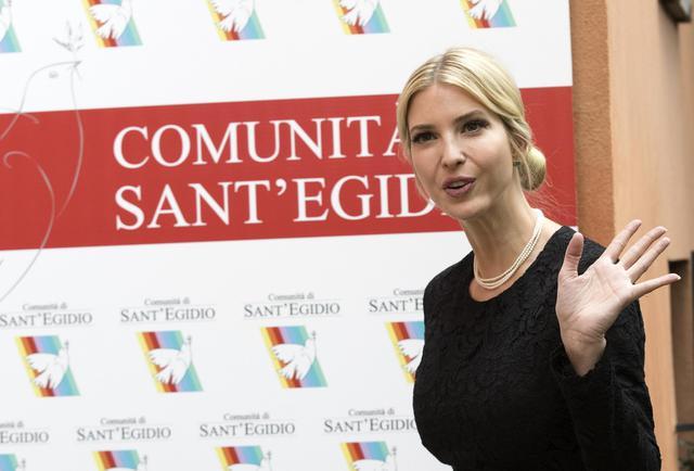Trump a Roma, Ivanka a Sant'Egidio: