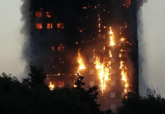 Incendio Londra,