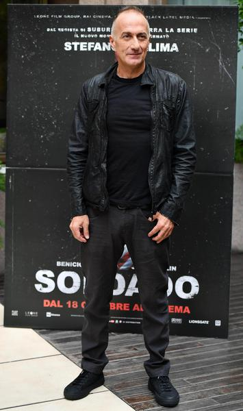 Photocall of 'Soldado' in Rome - Italian director Stefano Sollima poses during the photocall for ''Soldado'' in Rome, Italy, 11 October 2018. The movie opens in Italian theaters on 18 October.       ANSA/ ETTORE FERRARI © ANSA