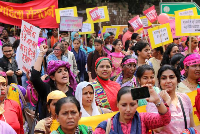 International Women's Day in India © Ansa