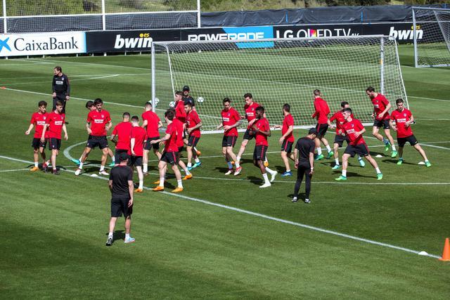 Allenamento calcio Atlético de Madrid sconto