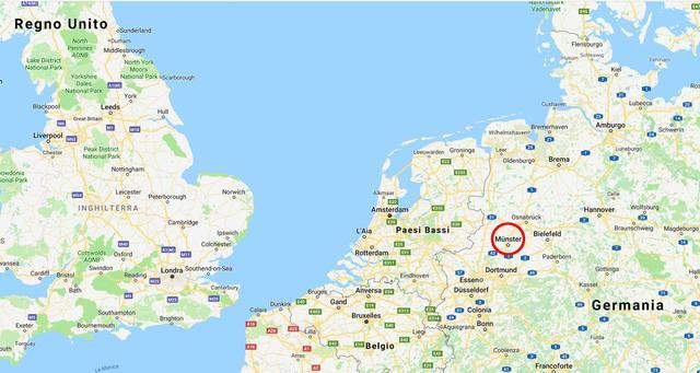 Dortmund Germania Cartina.Germania Furgone Sulla Folla A Munster La Mappa Primopiano Ansa It