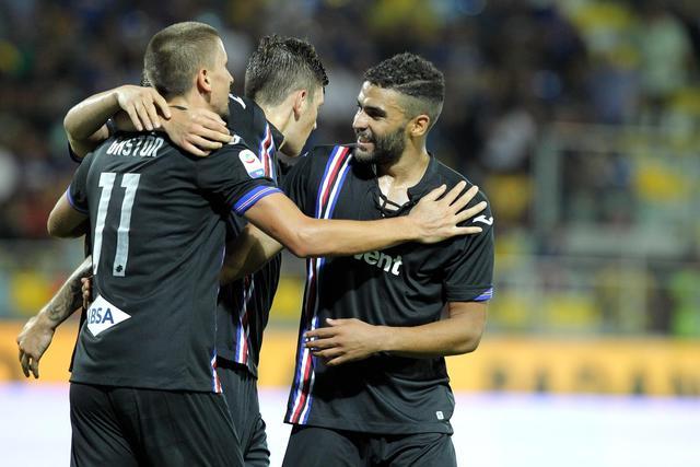 La Sampdoria dilaga allo Stirpe: Frosinone spazzato via 5-0