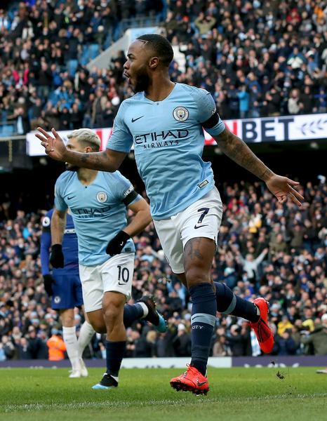 Premier League: City-Chelsea 6-0 ©