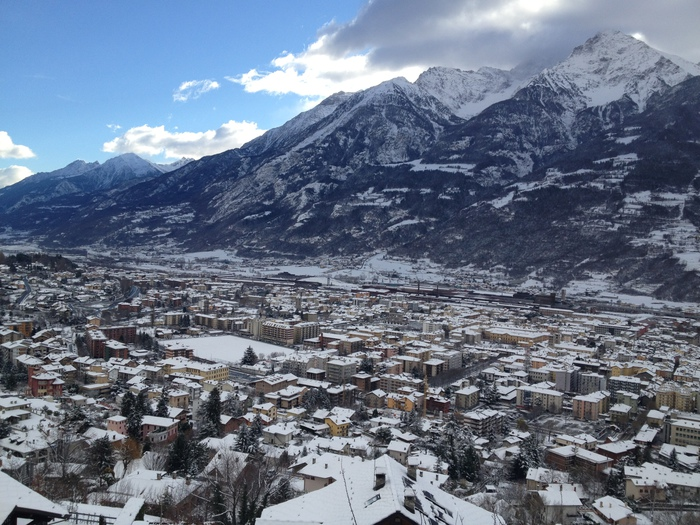 Maltempo neve in valle d 39 aosta cronaca for Arredo bagno valle d aosta