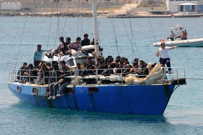 Migranti:4 dispersi in mare a Marettimo