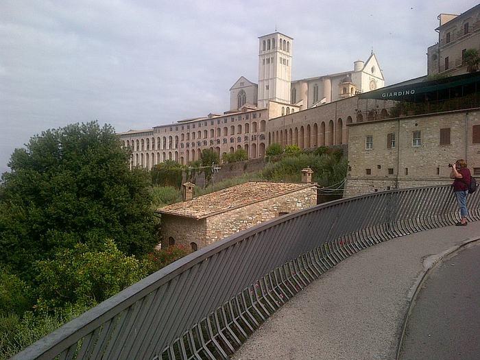 Frati Assisi, S. Francesco faro Marcia