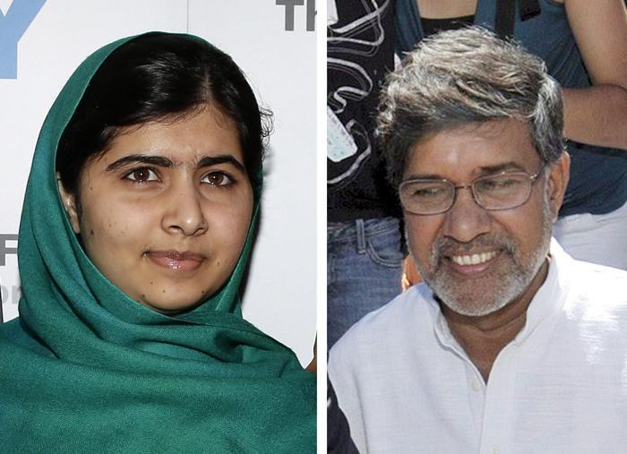 Nobel per la pace a Malala Yousafzai, pakistana, e Kailash Satyarthi, indiano. Per la loro lotta contro l'oppressione dei bambini e dei giovani.