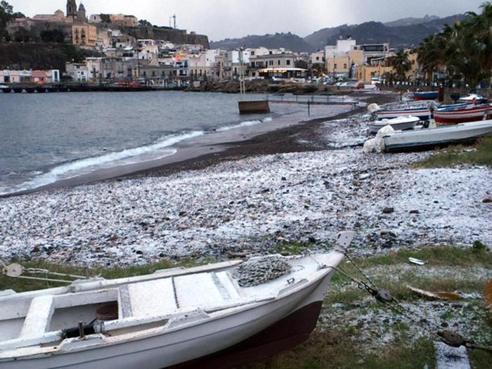 Sicilia nella morsa del freddo e della neve$