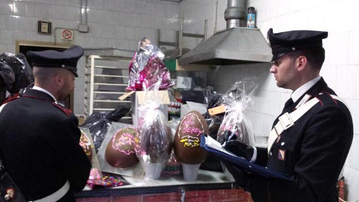 WebCalabria: Sequestro nel Napoletano uova di Pasqua
