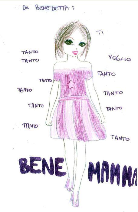 Ecco Il Disegno Della Mia Mamma Speciali Ansait