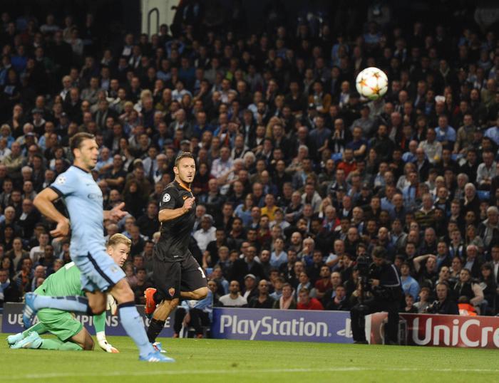 Il gol di Totti