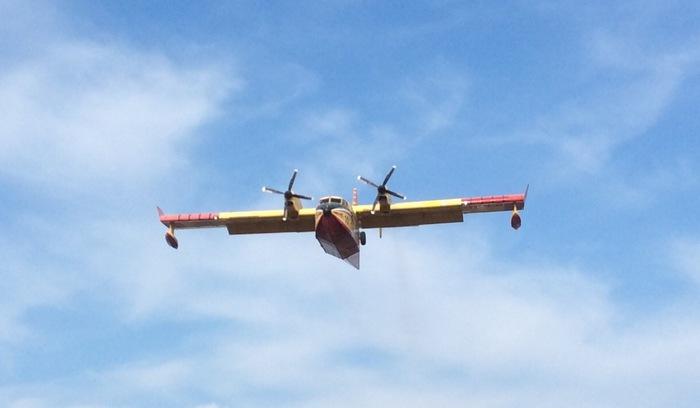 Canadair O Elicottero : Incendi canadair e elicottero in arrivo sardegna ansa