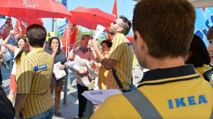 Ikea a firenze 90 adesioni sciopero toscana for Ikea firenze