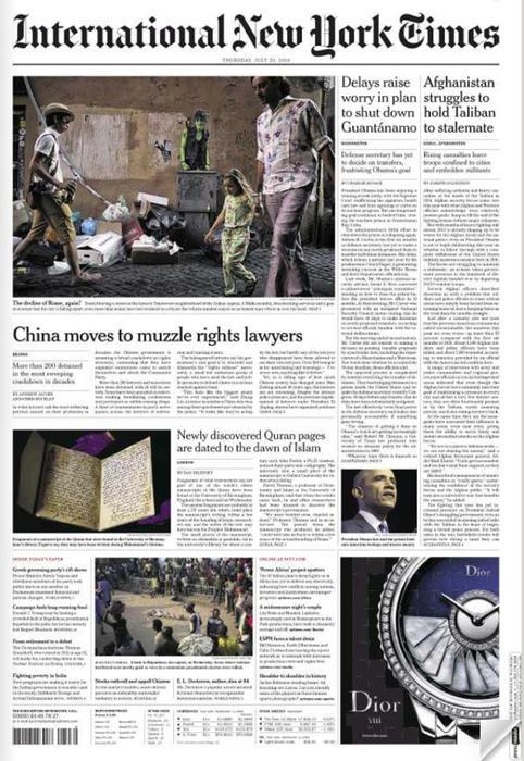 e5fdab07696dd4 NYT on 'depraved' Rome, virtuous mayor - English - ANSA.it