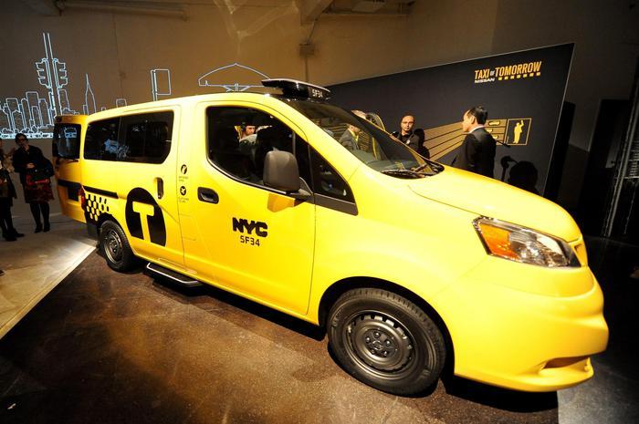 nuovi taxi new york