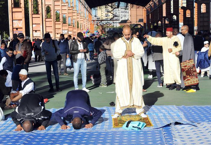 Patrocinio comune Bari a festa Islam