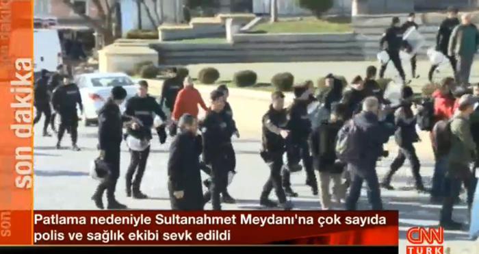 Strage di turisti a Istanbul: bomba di un kamikaze a Sultanahmet