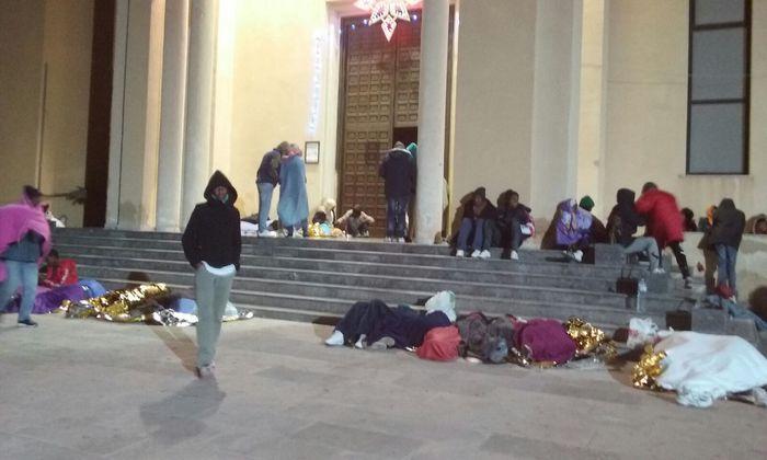 Lampedusa, continua la protesta dei migranti eritrei$