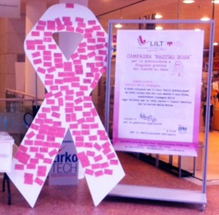 Tumori seno,a ottobre controlli gratuiti