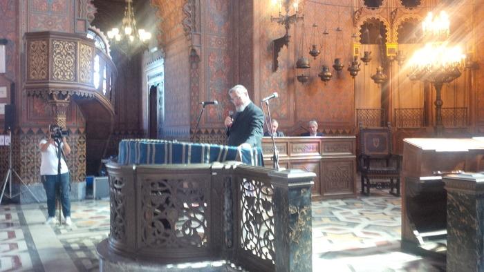 Alluvione Firenze,restaurati arredi sinagoga