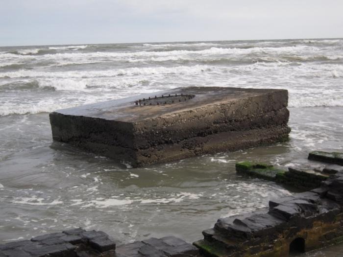 Fortificazioni dal mare a Porto Tolle