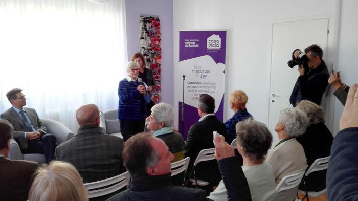 Nasce a Trieste CasaViola, per familiari malati Alzheimer