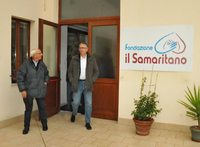 Ceriscioli visita Fondazione Samaritano