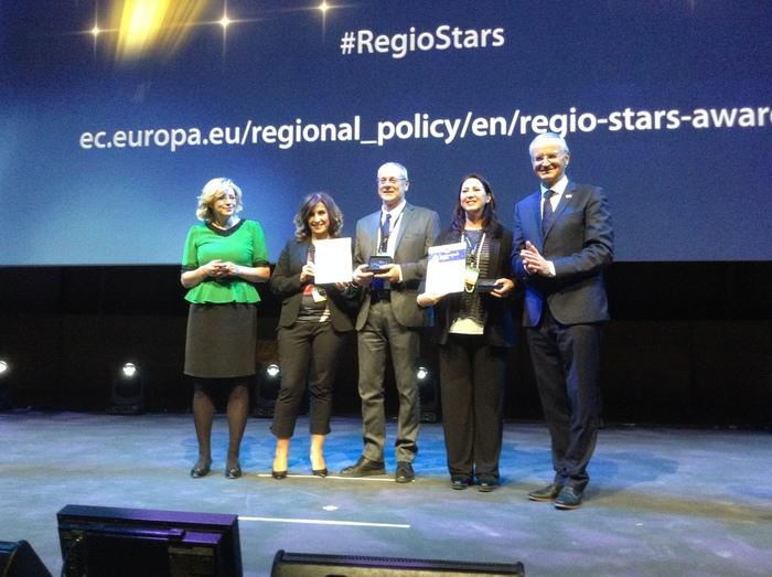 Riconoscimento Regione per RegioStars
