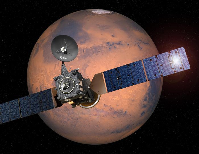 Torino diventa rossa per sbarco su Marte
