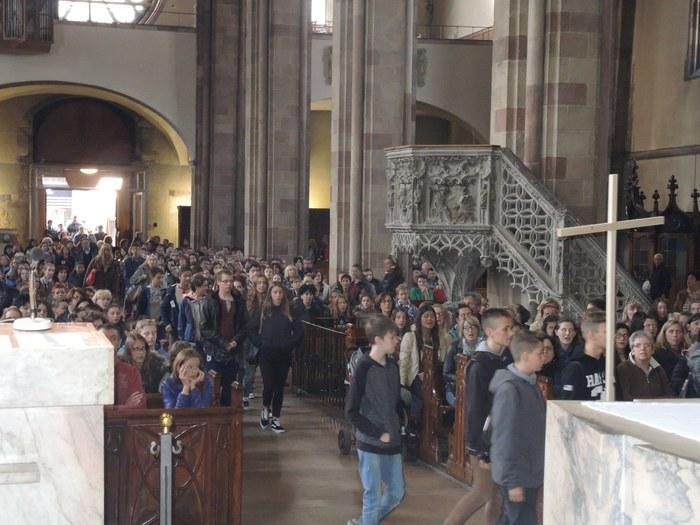 Religione: Festa dei cresimati a Bolzano