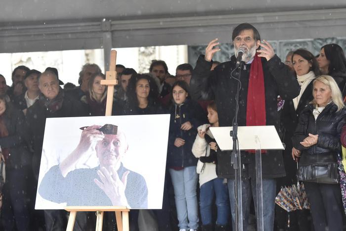 Funerali Dario Fo in piazza Duomo - DIRETTA FOTO