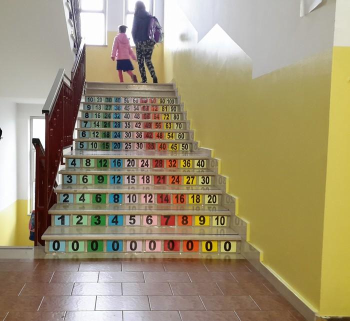 Tabelline si imparano salendo le scale