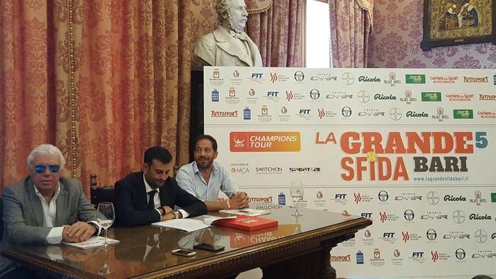 Tennis: Bari ospita sfida stelle passato