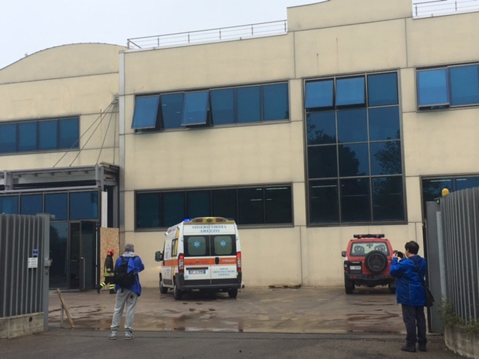 Esplosione ditta orafa Arezzo, 2 feriti