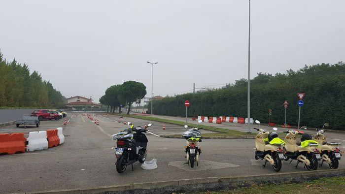 A Rimini campo di prova per le due ruote
