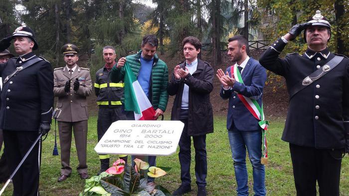 Giardino Bartali, giusto tra le nazioni
