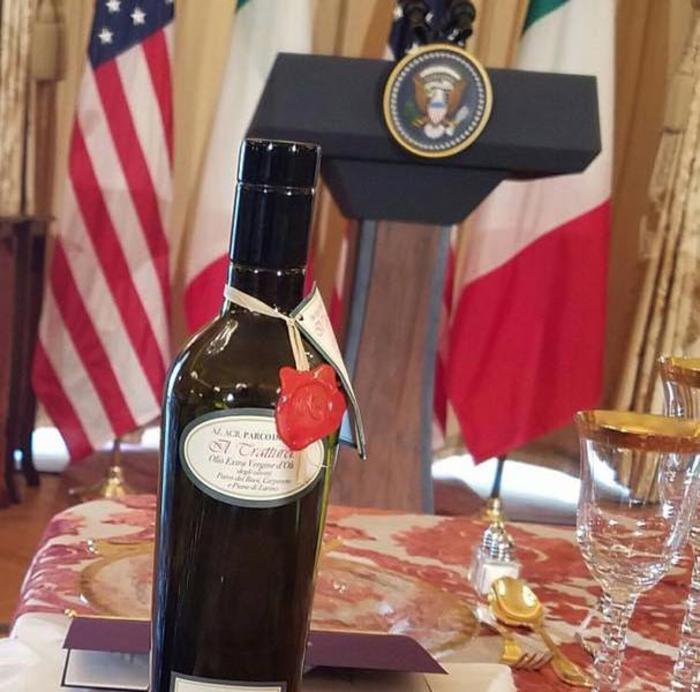 Olio molisano per cena Obama-Renzi