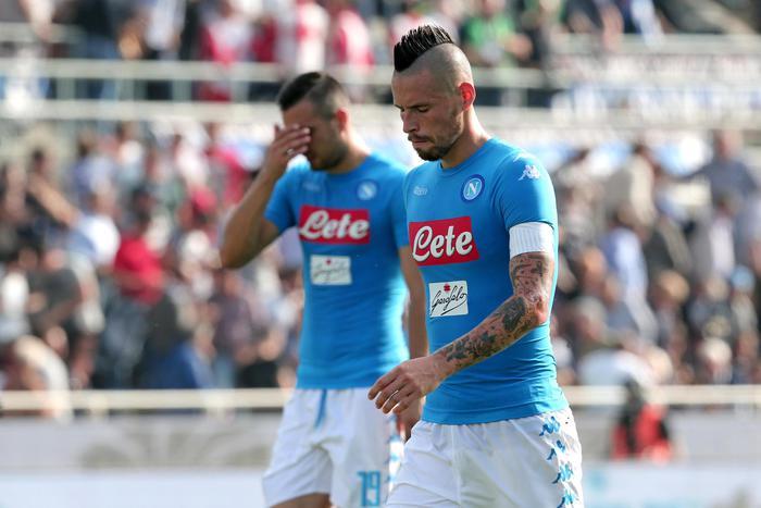 Calcio: Atalanta-Napoli 1-0, prima sconfitta per gli azzurri