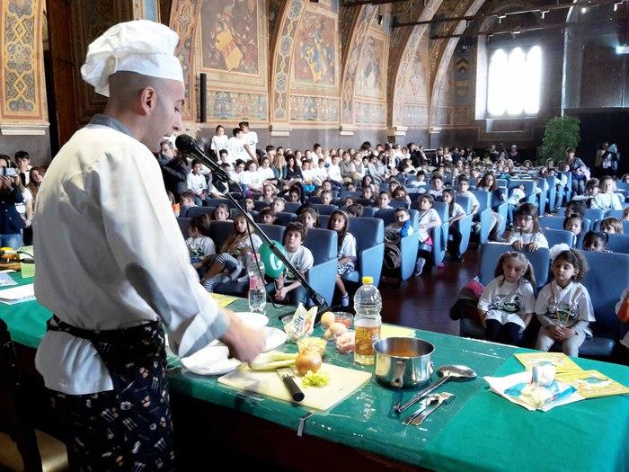 Avanzi cibo, progetto Gesenu per scuole